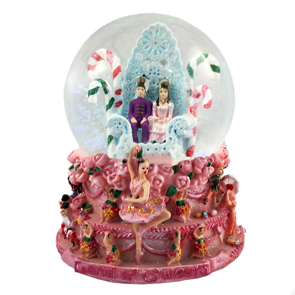 Musical Land of Sweets Snow Globe Dance of Sugar Plum Fairy